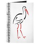 Stylized Stork Journal