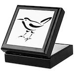 Stylized Wren Keepsake Box