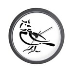 Stylized Lark Wall Clock