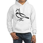 Stylized Lark Hooded Sweatshirt