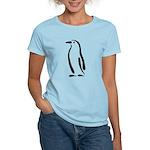 Stylized Penguin Women's Light T-Shirt