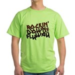Rockin' Down the Flyway Green T-Shirt
