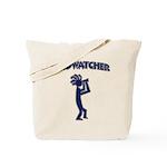 Kokopelli Birdwatcher Tote Bag