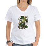 Carolina Parakeet Women's V-Neck T-Shirt