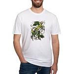 Audubon's Carolina Parakeet Fitted T-Shirt