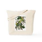 Audubon's Carolina Parakeet Tote Bag