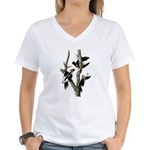 Ivory-billed Woodpecker Women's V-Neck T-Shirt