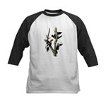 Ivory-billed Woodpecker Kids Baseball Jersey