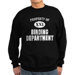 Property of Birding Dept. Sweatshirt (dark)