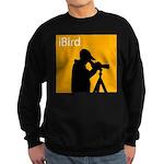 iBird (orange) Sweatshirt (dark)