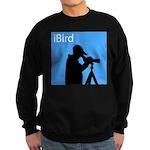 iBird (blue) Sweatshirt (dark)