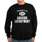 Property of Banding Dept. Sweatshirt (dark)