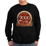 Lifelist Club - 2000 Sweatshirt (dark)