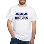 Forecast for Birding White T-Shirt