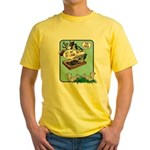 Squirrels, Get Off My Lawn! Yellow T-Shirt