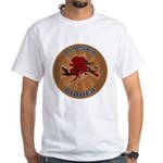 Alaska Birder White T-Shirt