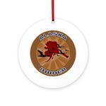 Alaska Birder Ornament (Round)