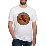 California Birder Fitted T-Shirt