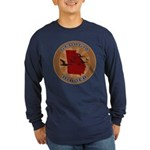 Georgia Birder Long Sleeve Dark T-Shirt