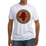 Illinois Birder Fitted T-Shirt