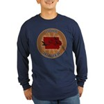 Iowa Birder Long Sleeve Dark T-Shirt