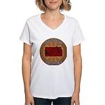 Kansas Birder Women's V-Neck T-Shirt