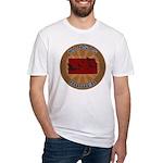 Kansas Birder Fitted T-Shirt
