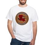 Louisiana Birder White T-Shirt