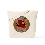 Louisiana Birder Tote Bag