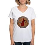 New Hampshire Birder Women's V-Neck T-Shirt