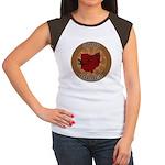 Ohio Birder Women's Cap Sleeve T-Shirt