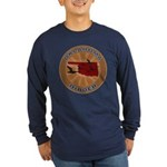 Oklahoma Birder Long Sleeve Dark T-Shirt