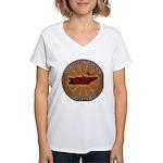Tennessee Birder Women's V-Neck T-Shirt