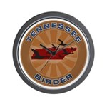 Tennessee Birder Wall Clock