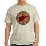 West Virginia Birder Light T-Shirt