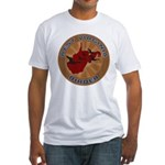 West Virginia Birder Fitted T-Shirt