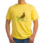 Fuertes' Meadowlark Yellow T-Shirt