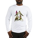 Fuertes' Waxwings Long Sleeve T-Shirt