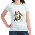 Fuertes' Waxwings Jr. Ringer T-Shirt