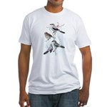 Fuertes' Shrikes Fitted T-Shirt