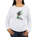 Grosbeaks & Buntings Women's Long Sleeve T-Shirt