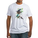 Grosbeaks & Buntings Fitted T-Shirt