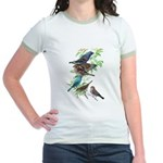 Grosbeaks & Buntings Jr. Ringer T-Shirt