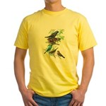 Grosbeaks & Buntings Yellow T-Shirt