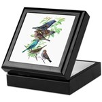 Grosbeaks & Buntings Keepsake Box