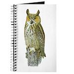 Fuertes' Great Horned Owl Journal