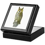 Fuertes' Great Horned Owl Keepsake Box