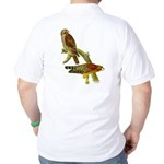 Red-shouldered Hawk Golf Shirt