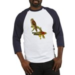 Red-shouldered Hawk Baseball Jersey