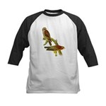 Red-shouldered Hawk Kids Baseball Jersey